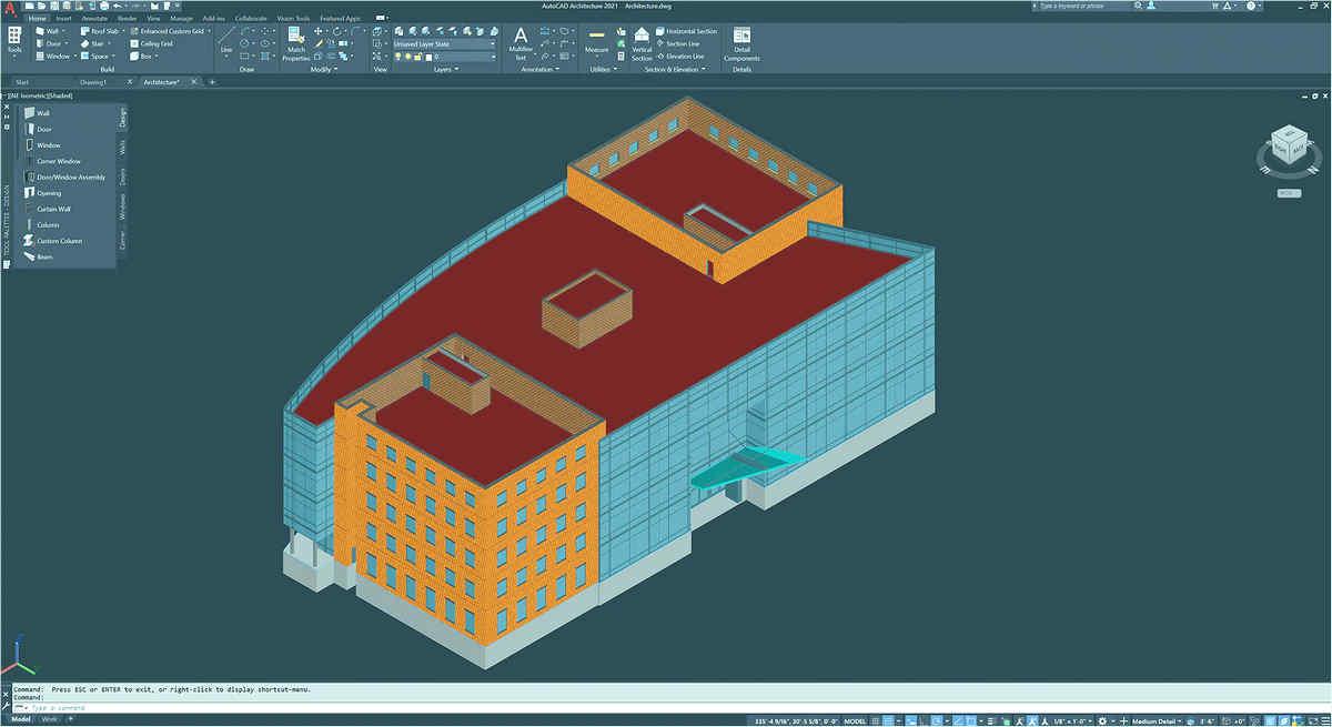 Phần mềm thiết kế đồ họa Autocad